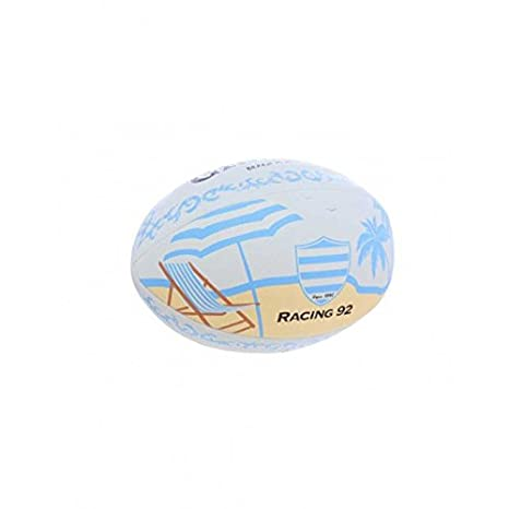 Balón Rugby - Beach Racing 92, talla 4 - Racing 1882, multicolor ...