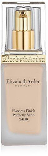 [Elizabeth Arden Flawless Finish Perfectly Satin 24hr Broad Spectrum SPF 15 Makeup, Soft Shell, 1.0 fl. oz.] (Satin Finish Foundation)