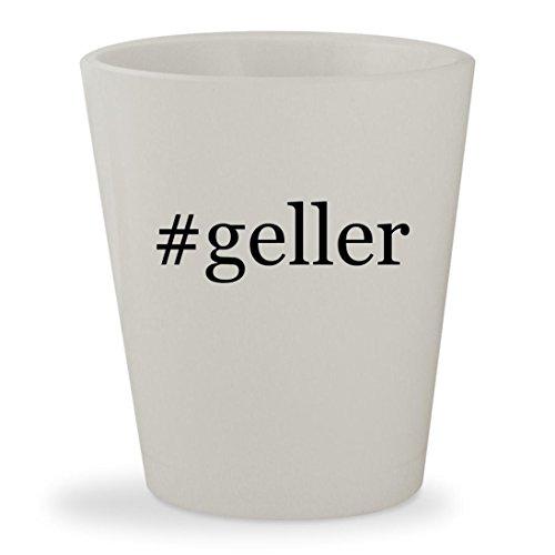 #geller - White Hashtag Ceramic 1.5oz Shot Glass