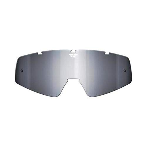 (Fly Racing Replacement ATF ATS Lens for Youth Focus/Zone Goggles Smoke Chrome One Size)