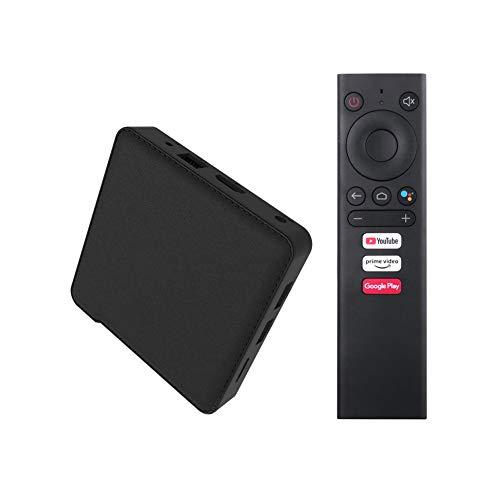 NZYMD Android 10.0 TV Box Quad-Core 4GB RAM 64GB ROM with Bluetooth 4.2 WiFi 5G/2.4G 4K HDR H.265 3D USB 3.0 Ethernet 10/100M HDMI