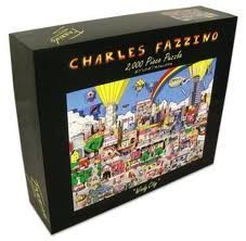 Windy City by Charles Fazzino 2000 PC Puzzle