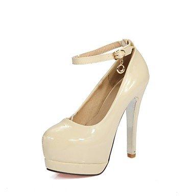 Zormey Women'S Shoes Stiletto Heel/Platform/Round Toe Heels Party &Amp; Evening/Dress Black/Pink/Red/Almond US8 / EU39 / UK6 / CN39