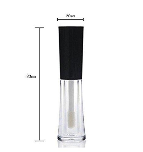 107e22aa0d6d 1 Set(3 PCS) 2ml Transparent Empty Eyelashes Tube + 2ml Eyeliner Tube  Bottles + 2ml Lip Gloss Tube