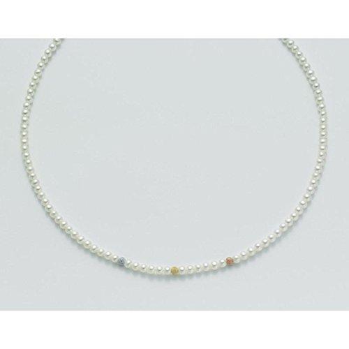 Collier MILUNA les colliers de perles pcl1701or blanc perle