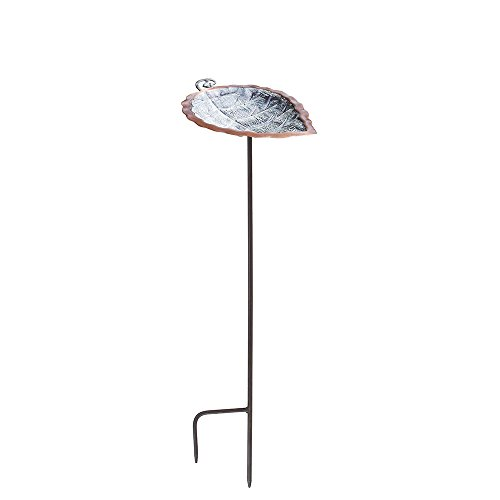 Achla Designs Aspen Leaf Birdbath with ()