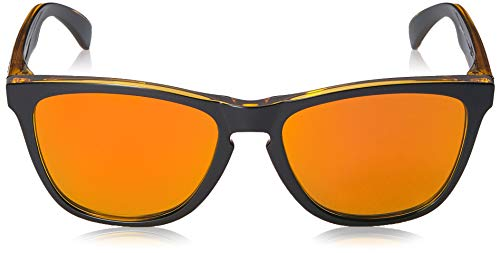 82d3b7074 ... Oakley Men's Frogskins Non-Polarized Iridium Square Sunglasses, MATTE  BLACK, ...