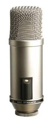 Rode Broadcaster Large Diaphragm End-Address Studio Condenser Microphone