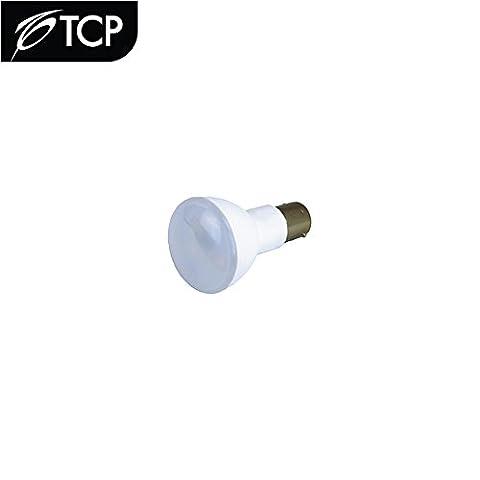 TCP LED2W1383V2 LED Elevator Lamp 2-Watt (20W Equal), 2700K (Soft White), Frosted Lens, 12V, BA15S Base (1383 (White Out Contact Lens)