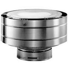 Dura-Vent 58DVA-VC 5 x 8 DirectVent Pro Aluminum Low Profile Termination Cap Aluminum Chimney Caps