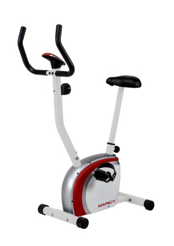 Marcy Upright Exercise Bike, White