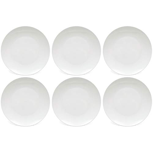 Maxwell Williams 5245555 Cashmere Dinner Plates, Coupe Style, Fine Bone - Bone China Williams Cashmere