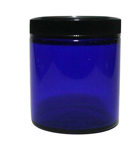 Cobalt Blue Glass Jar (Small)