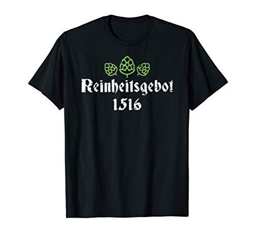 Oktoberfest Reinheitsgebot T-Shirt - German Beer Tee