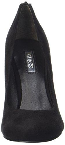 Guess Women's Flar Court Shoes Black Black 6h8B9Fnr