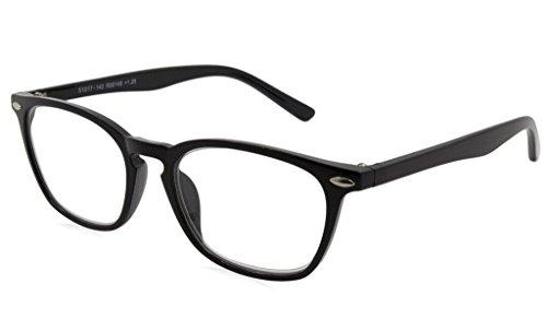 Able Vision Reading Glasses - R99148 Black / Black +1.25-R99148blk125