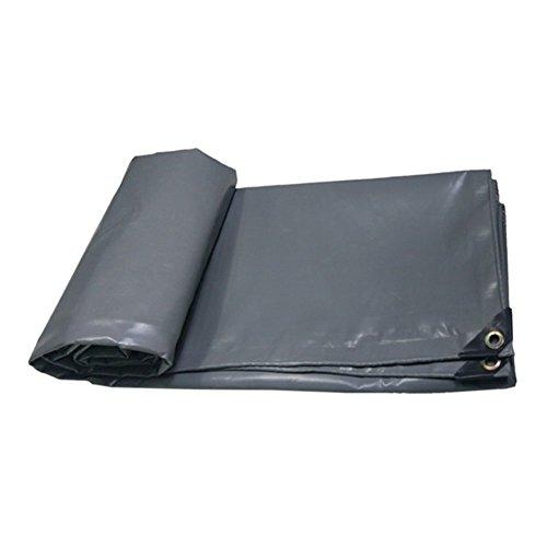 Yetta Zelt im Freien Plane flammhemmend regendicht Tuch LKW Schuppen Tuch Outdoor Schatten Zelt Tuch Hochtemperaturverschleißfestigkeit KorrosionsBesteändigkeit, grau (Farbe   grau, Größe   2x2M)