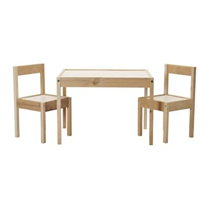 Amazon Com Ikea Children S Kids Table 2 Chairs Set Furniture 2