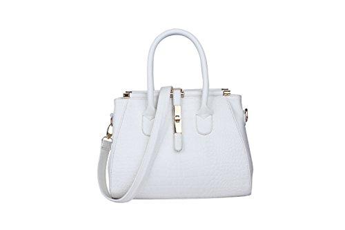 Diagonal Handbags Stereotypes Handbag Korean Tide New Pattern Belt Diagonal White Shoulder Crocodile Iq06FwFv