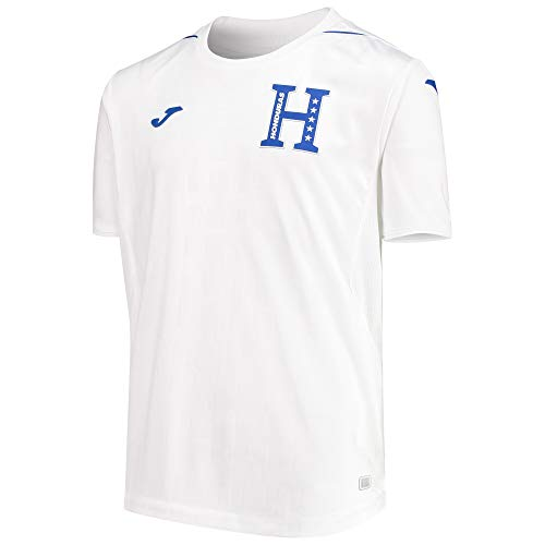 Honduras National Soccer Team Home Jersey 2019/20 (White, Youth X-Large)