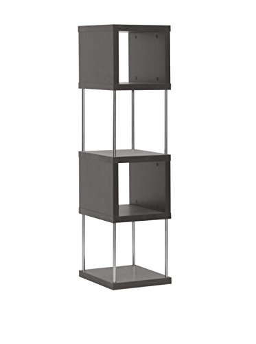 Review Baxton Studio FP-4Tier-Display Murillo Modern Display Shelf Tower, Dark Brown By Baxton Studio by Baxton Studio