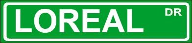 novelty-loreal-6-wide-magnet-of-street-sign-design