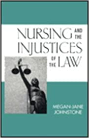 Book Nursing and the Injustices of the Law