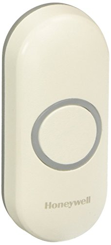 (Honeywell RPWL400W2000/A Series 3, 5, 9 Wireless Doorbell Push Button with Halo Light)