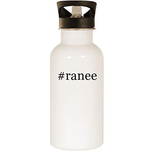 #ranee - Stainless Steel 20oz Road Ready Water Bottle, (Custom Dj Coffin)