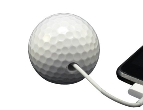 Cord Buddy 'Sport Charger Cord Holder, Golf Ball, White