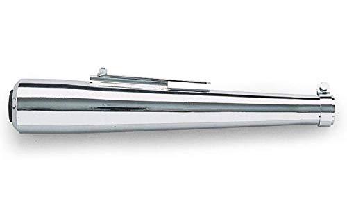 Helix Racing Megaphone Muffler Chrome 22 Inch Universal
