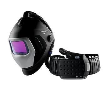 3M Speedglas - Adflo 9100XXi Casco de soldadura con respirador: Amazon.es: Coche y moto