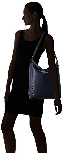 LOEFFLER Black Cross RANDALL Hobo Bag Body Eclipse wx4qHwf1