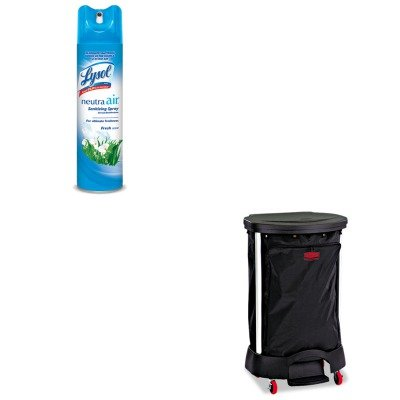 KITRAC76938EARCP6350BLA - Value Kit - Linen Hamper Bag, 30 Gallon (RCP6350BLA) and Neutra Air Fresh Scent ()