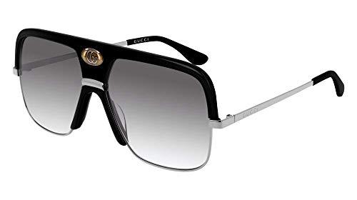 9cfa017fd1 Sunglasses Gucci GG 0478 S- 001 BLACK GREY RUTHENIUM