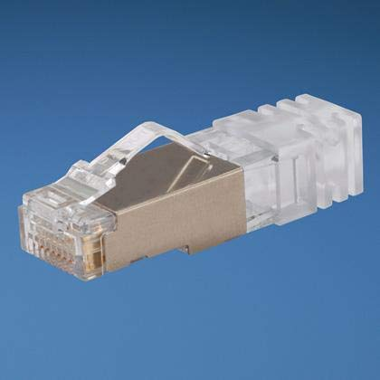 【PANDUIT】TX6 TM PLUS シールド付モジュラープラグ シールド付カテゴリ6 モジュラープラグ 適用導線径 AWG24~26の単線および撚り線 適用ケーブル外径φ5.72mmから6.35mm SPS688-C (100個入り) B0083Y3282