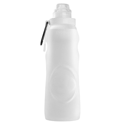 OuterEQ Collapsible Sports Water Bottle Bike Water Bottle Translucent