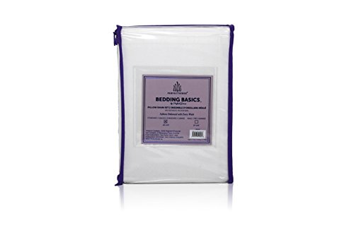 Camel Euro Comforter - Pillow Shams Set 2 Piece PerfectSense Basics Luxury Soft Breathable Hypoallergenic Pillow Cover Set Wrinkle Free & Machine Washable Pillow Sham - Camel, King