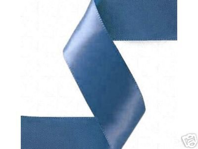 5/8 By 100yd Single Face Satin Ribbon-antique Blue by All the Makings   B0044T8OBA