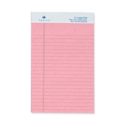 (Colored Pad, Jr. Legal Rule, 5amp;quot;x8amp;quot, 50 Sheets, 12-Pack Color: Pink)