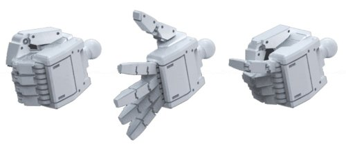 Bandai Hobby HD MS Hand 01 EFSF Builders Parts (1/144 Scale)