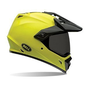 Bell Unisex-Adult Off Road Helmet (Solid Hi-Vis, XX-Large) (MX-9 Adventure D.O.T - 3 Solid Helmet Road Off