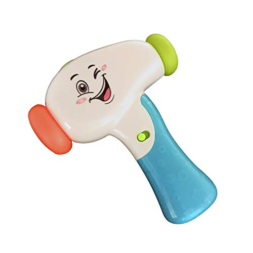Kidsthrill Baby Hammer Rattle Toy | Music Sounds and Light | Hammer Toys for Toddlers and Babies | Hands - Eye - Music Hammer