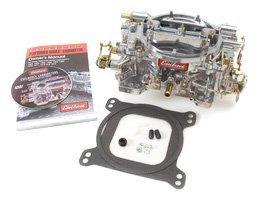 Edelbrock 1405 Performer 600 CFM Square Bore 4-Barrel Air Valve Secondary Manual Choke New Carburetor by Edelbrock (Image #1)