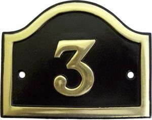 Brass Black Cast No '3' black country