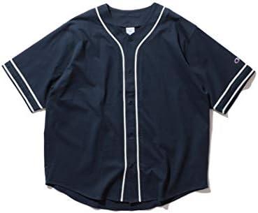 /半袖カットソー Champion × BEAMS 別注 ベースボール シャツ メンズ