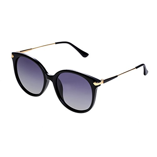 SunDecker Fashion Mirrored Polarized Sunglasses For Women 100% UV Protection - 2018 Trend Sunglasses