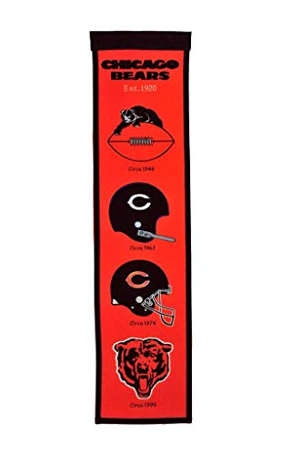 chicago bears heritage banner - 5