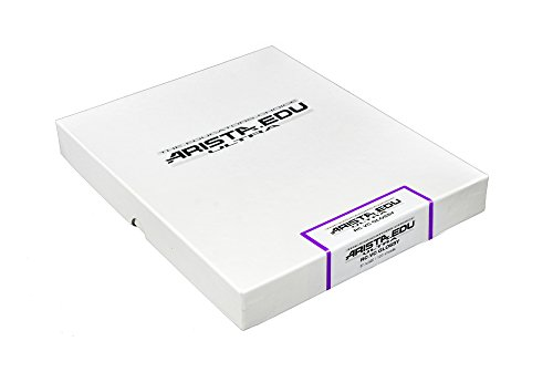 Arista EDU Ultra VC RC Black & White Photographic Paper, Glossy 8×10, 100 Sheets