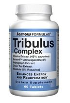 Jarrow Tribulus complexe (60 Tabs) (Multi-Pack)